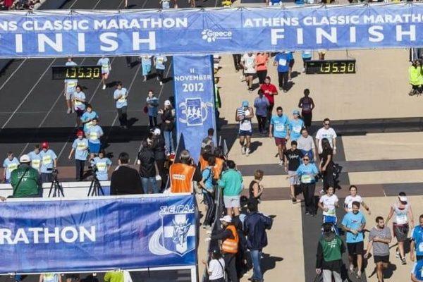 """""""Παρών"""" του Α.Ο. Φιλιατρών στον 36ο Αυθεντικό Μαραθώνιο της Αθήνας"""
