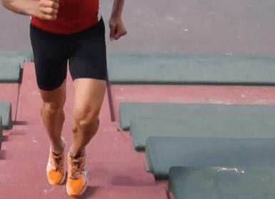 Απλές ασκήσεις σε σκαλιά για να τρέξετε γρηγορότερα!