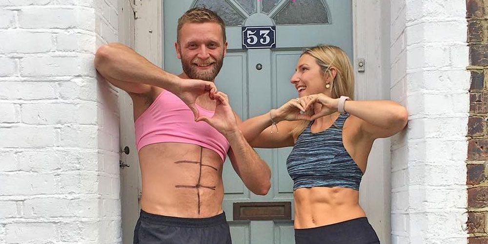 Τρολάρει τη γυναίκα του για τον fitness λογαριασμό της στο instagram! (pics)