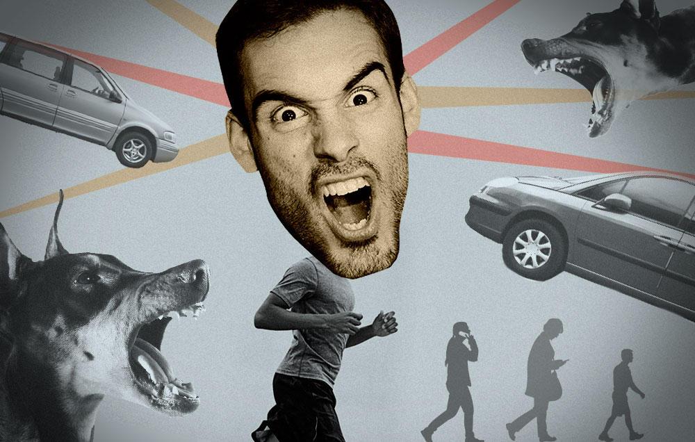 Ο θυμός του δρομέα: Τι τον προκαλεί και πως ελέγχεται