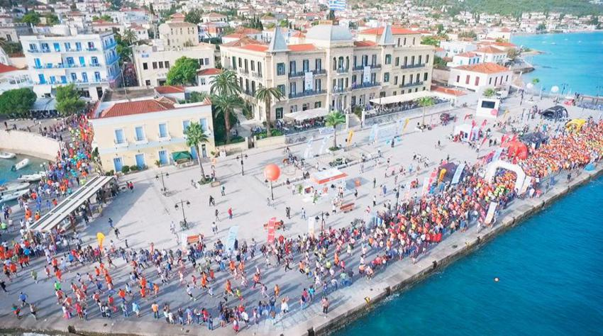 This is Spetses Mini Marathon!