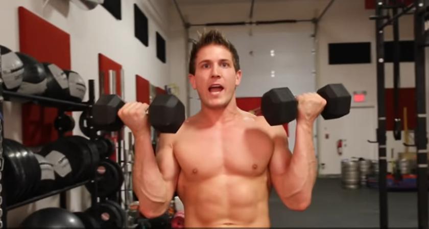 """Πρόγραμμα γυμναστικής """"πυραμίδα"""" για να... λιώσεις το λίπος"""