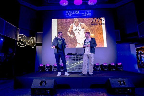 Nike: Γιόρτασε τη συμμετοχή του Giannis στο All-Star Game