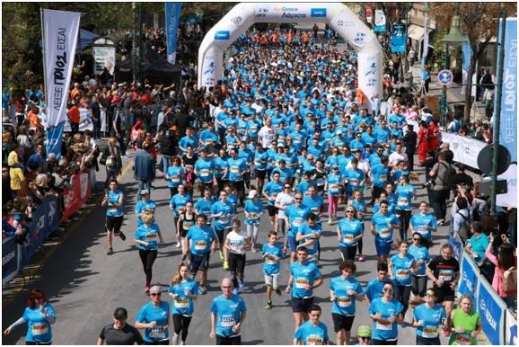 Η εκκίνηση για τo Run Greece 2018 γίνεται στη Λάρισα