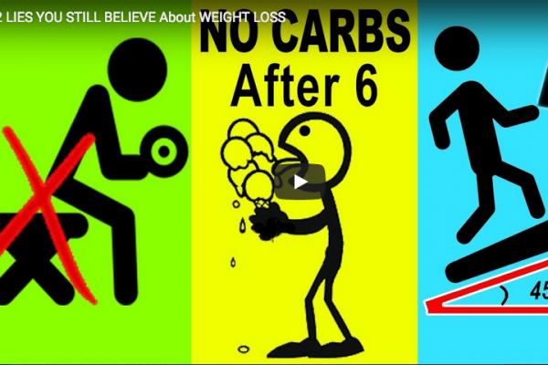 Αδυνάτισμα: Οι 12 μεγαλύτεροι μύθοι διατροφής και προπόνησης