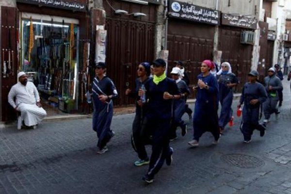 Γυναίκες στη Σαουδική Αραβία τίμησαν την 8η Μαρτίου κάνοντας τζόγκινγκ
