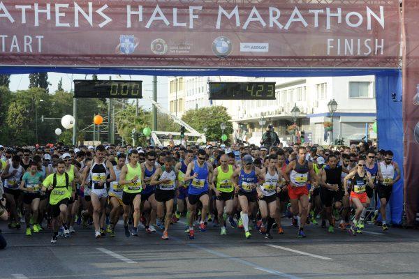 Πάνω από 1.000 οι εθελοντές για τον Ημιμαραθώνιο της Αθήνας