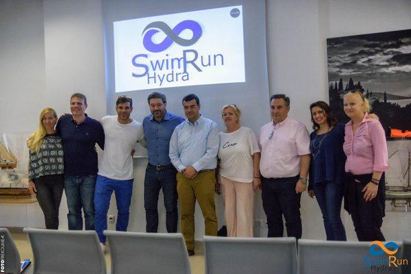 Το πρώτο SwimRun της Μεσογείου παρουσιάστηκε και θα γίνει στην Ύδρα!