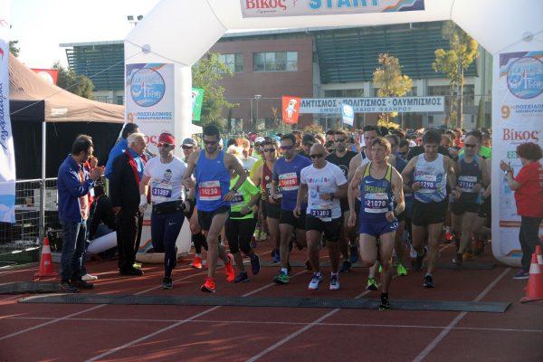 Με επιτυχία και ρεκόρ ολοκληρώθηκε ο 9ος Ποσειδώνιος Ημιμαραθώνιος