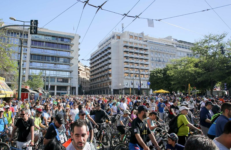 Άνοιξαν οι ηλεκτρονικές εγγραφές για τον 25ο Ποδηλατικό Γύρο Αθήνας