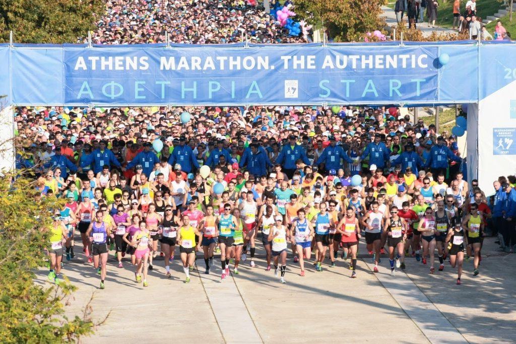 Την Τετάρτη (18/04) στις 4 το απόγευμα οι εγγραφές του Μαραθωνίου Αθήνας