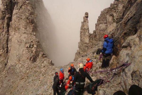 Διασώθηκε τραυματισμένη ορειβάτισσα στον Όλυμπο