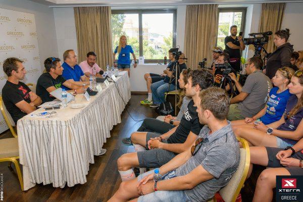 Παρουσιάστηκαν οι 37 pro-athletes του 6oυ XTERRA Greece Championship