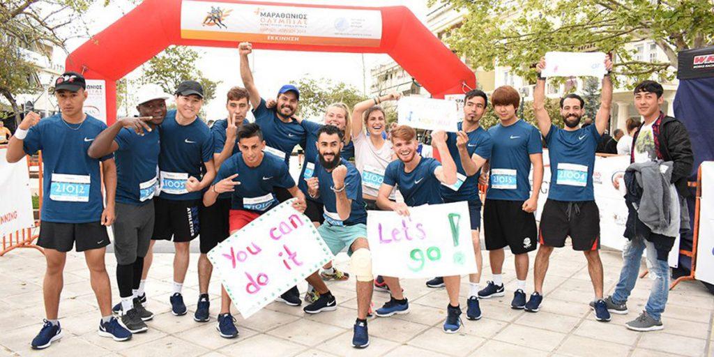 """Το """"Runner's world"""" για τους πρόσφυγες στην Ελλάδα που βρίσκουν διέξοδο στο τρέξιμο!"""