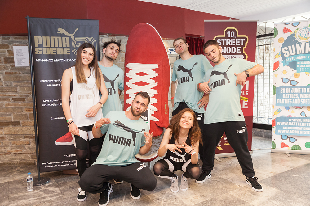 PUMA SUEDE: O απόλυτος νικητής του Battle of the Year Balkans & Bounce 2018!