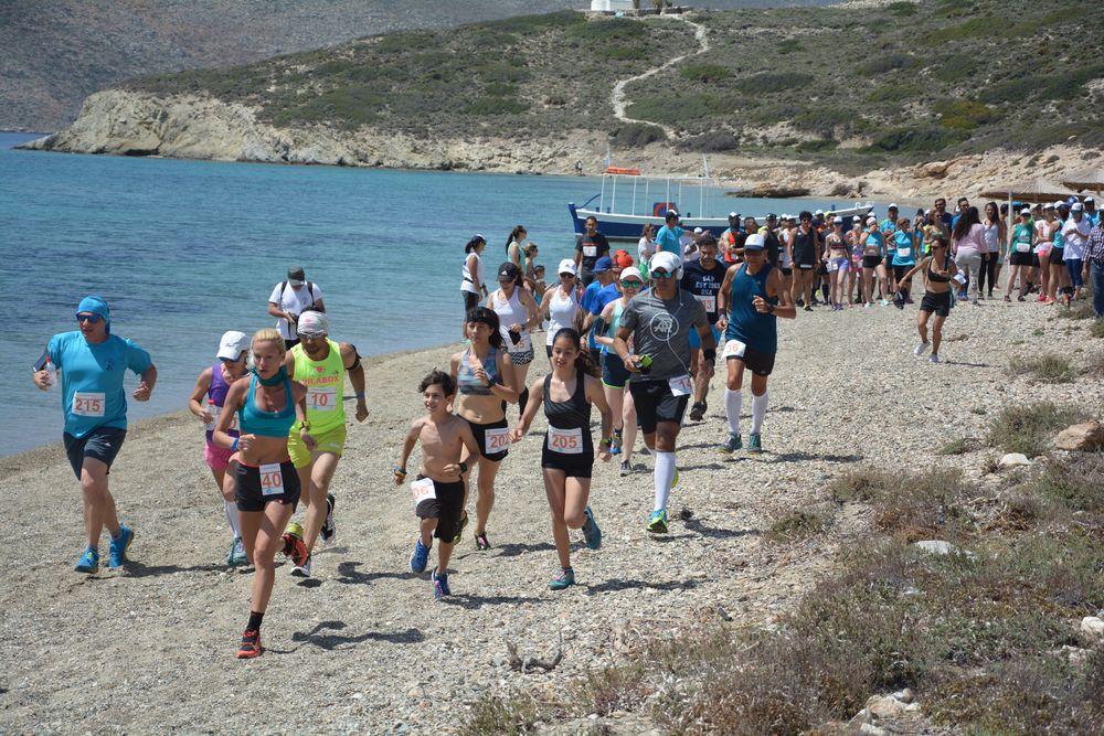 Με το Spike άρχισε η δράση στο 2ο Amorgos Trail Challenge