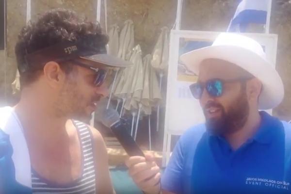 Ο Γιώργος Χρανιώτης στο Agios Nikolaos On SUP