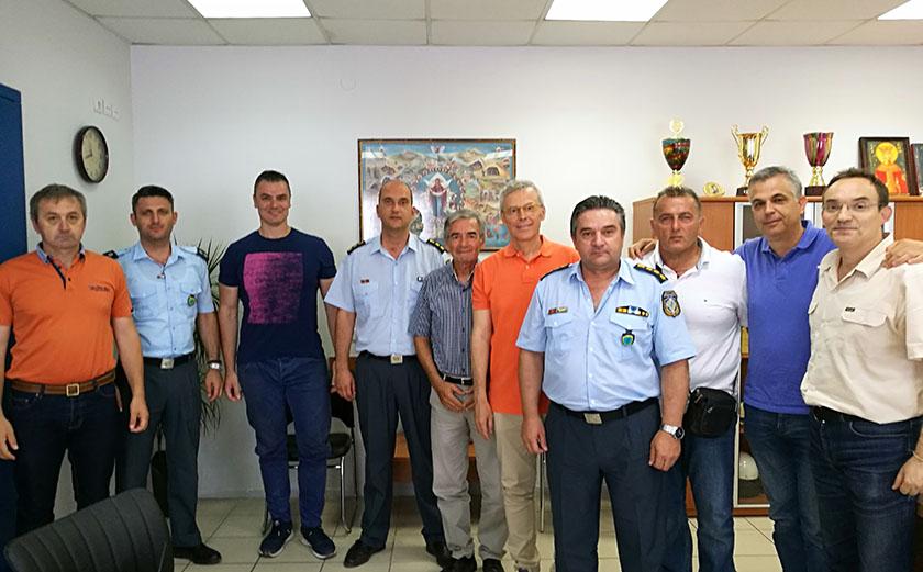 Σύσκεψη στο Μέγαρο της Αστυνομικής Διεύθυνσης Πιερίας για τους αγώνες δρόμου