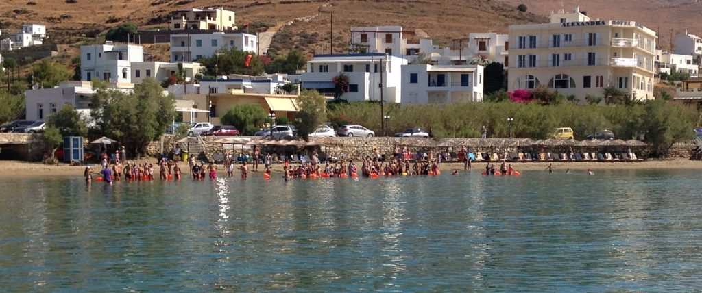 3rd Trimore Syros Triathlon: Εντυπωσιακή κολυμβητική πρεμιέρα (vid+pics)