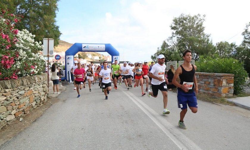 Γιορτή αθλητισμού και εθελοντισμού το KEA RUN