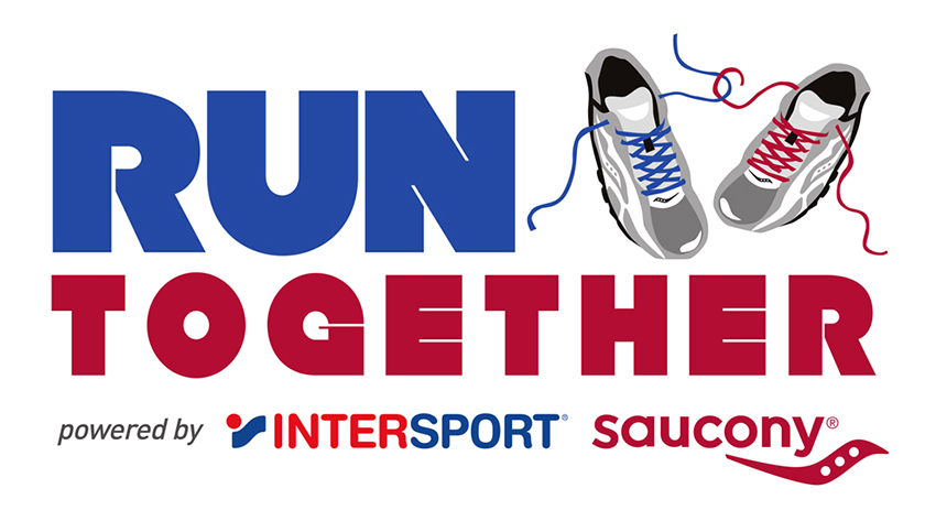 """RUN TOGETHER powered by INTERSPORT & SAUCONY"""