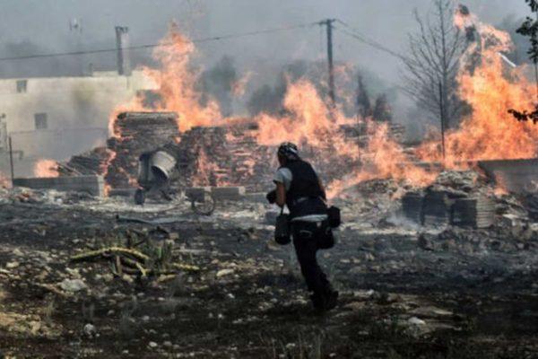 Ο ΣΕΓΑΣ κοντά στα θύματα της καταστροφικής πυρκαγιάς