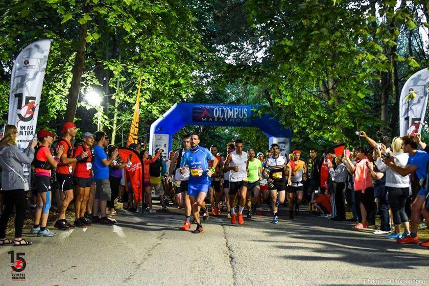 Ο Θεοδωρακάκος στην κορυφή του Olympus Marathon