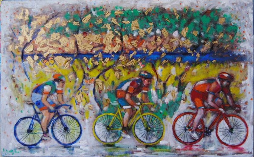 Γκαλερί με έργα τέχνης εμπνευσμένα από το Spetsathlon!