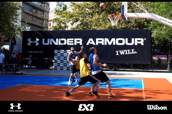 O Όμιλος Fais στο τέταρτο 3x3 FIBA Endorsed Tournament, με UNDER ARMOUR & WILSON!