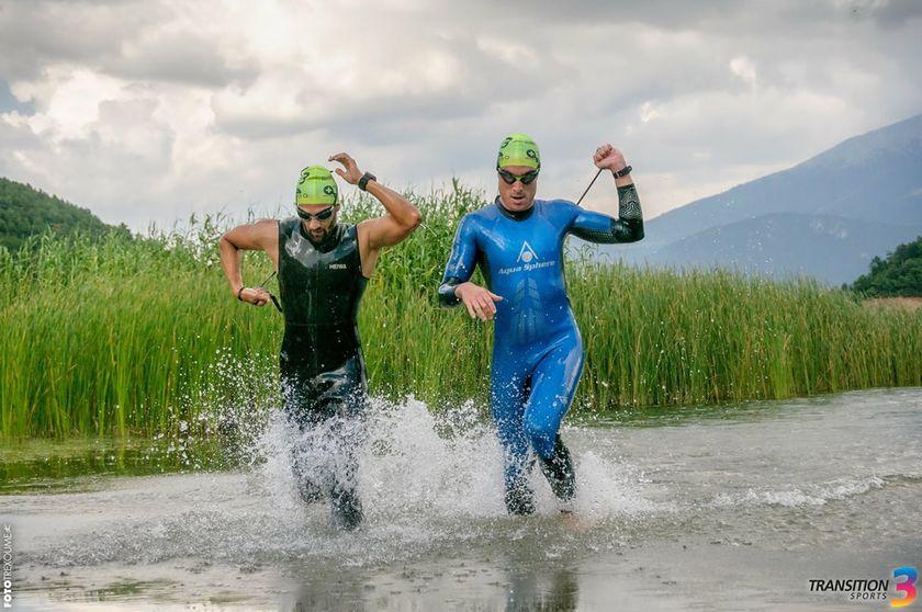 Ανανεωμένο και με ρεκόρ συμμετοχών το Sprint Triathlon στη Λίμνη Δόξα