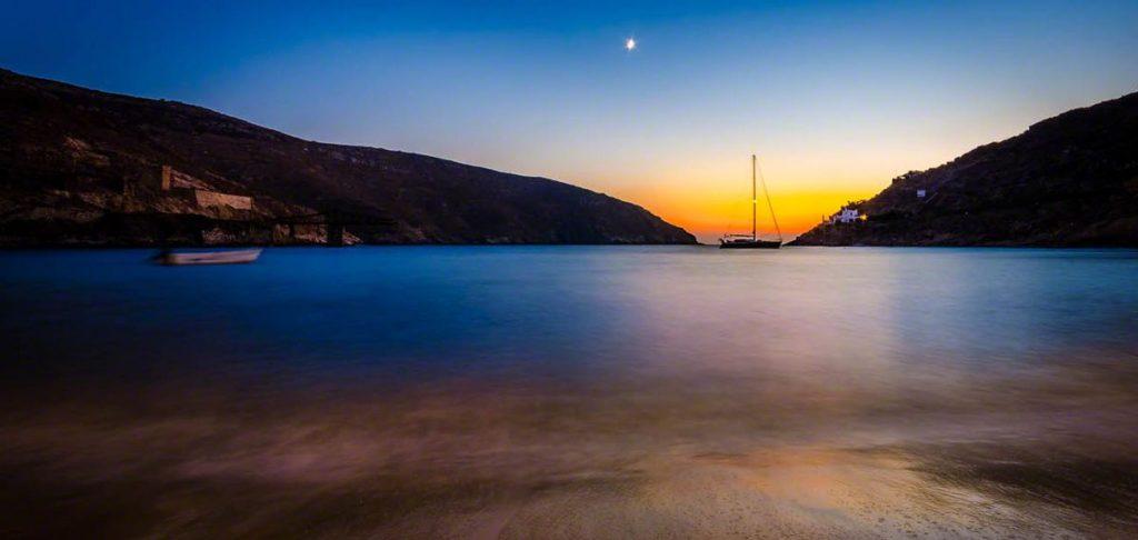 Serifos Sunset Race calling: Κολυμπώ και τρέχω στο χρώμα του Αιγαίου