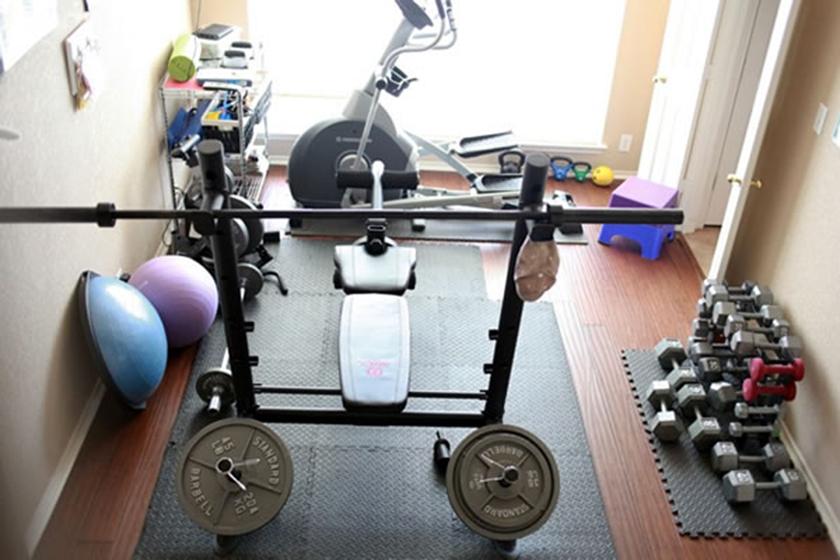 Όσα χρειάζεστε για να φτιάξετε το δικό σας γυμναστήριο στο σπίτι
