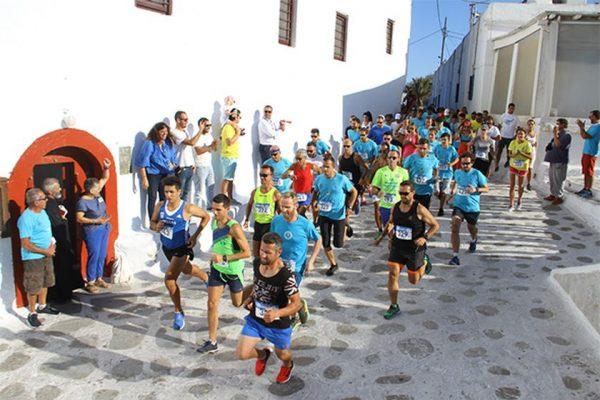 Με λάμψη Ολυμπιονικών το Mykonos Run