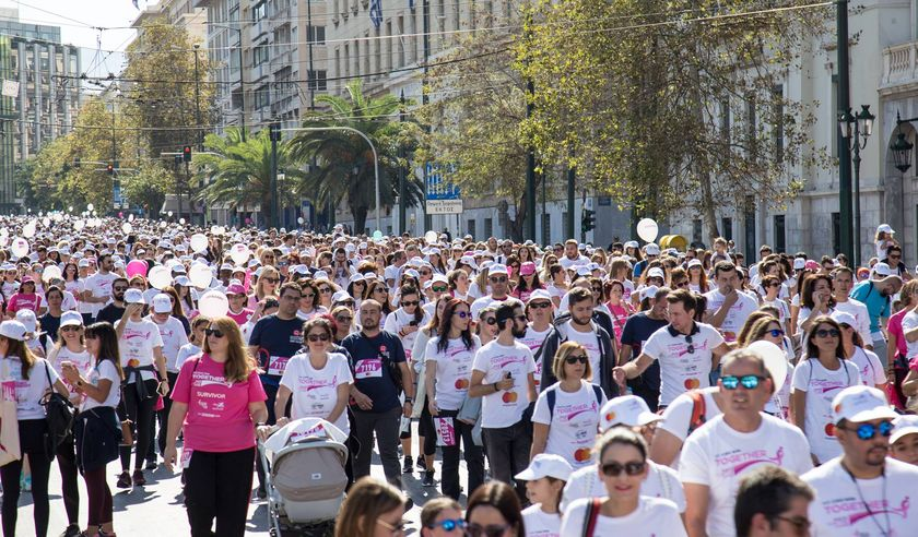 40.000 συμμετέχοντες στο επετειακό 10ο Greece Race for the Cure®