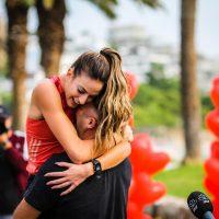 Και πρόταση γάμου στον τερματισμό του Ladies Run!