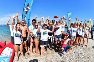 """Το SUP event στο Spetses Mini Marathon """"έκλεψε"""" την παράσταση"""