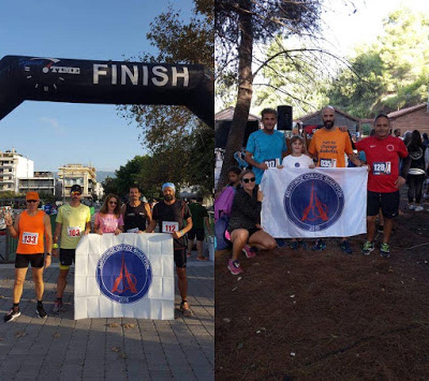 """Δυναμικό """"παρών"""" του Αθλητικού Ομίλου Φιλιατρών στον 3ο Ημιμαραθώνιο Καλαμάτας & στο Kaiafas Run"""