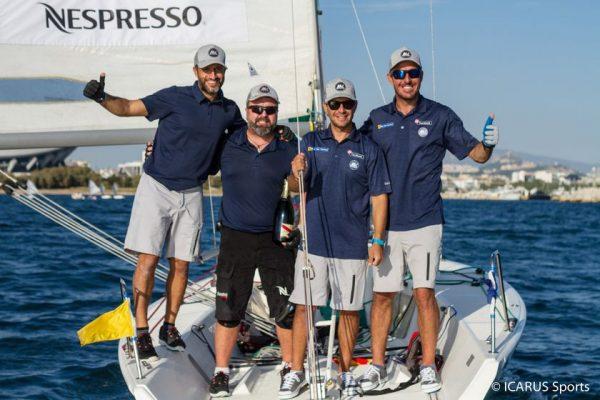 Οι Μάντης - Καγιαλής στην κορυφή του Hellenic Match Racing Tour για πέμπτη συνεχόμενη χρονιά