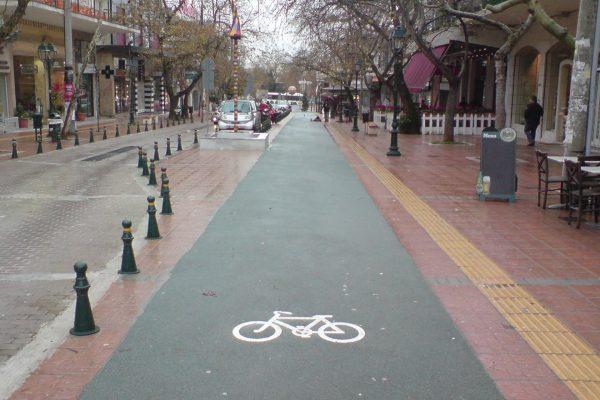 Πού θα γίνουν οι ποδηλατόδρομοι στο κέντρο της Αθήνας