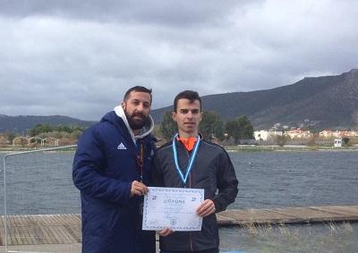 Πανελλήνιο ρεκόρ από τον Γιώργο Τζατζιμάκη στα 10χμ. βάδην