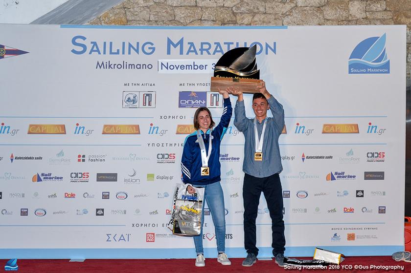 Η νέα γενιά της ιστιοπλοΐας ξεχώρισε στο Sailing Marathon