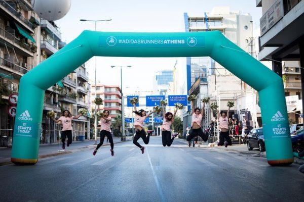 Οι adidas Runners ξεδίπλωσαν το πάθος τους στον 36o Αυθεντικό Μαραθώνιο Αθηνών