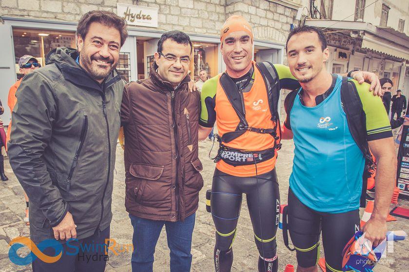 Γκοτζιάς-Δημόπουλος: Οι πρώτοι SwimRunners νίκησαν δεμένοι