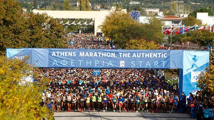 Δόθηκε η πρώτη εκκίνηση για τον 36ο Αυθεντικό Μαραθώνιο Αθήνας