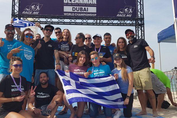 Ελληνική αύρα στο Oceanman World Final Dubai 2018