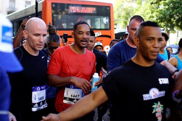 Έτρεξε ημιμαραθώνιο στην Κούβα ο Γουίλ Σμιθ!