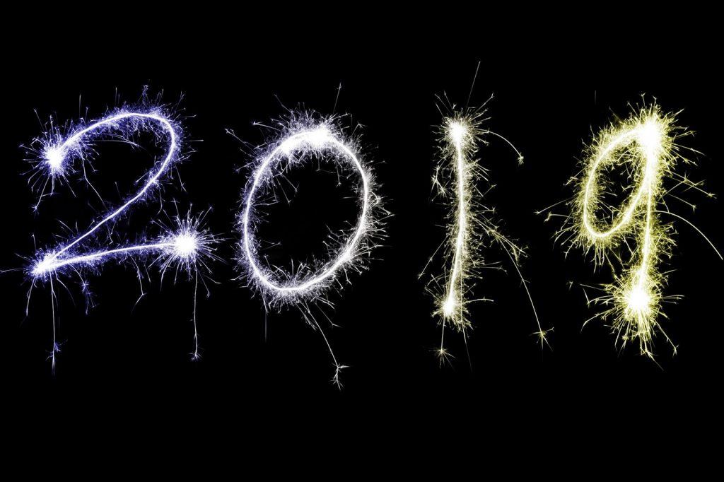 Ευτυχισμένο το 2019: Καλή χρονιά σε όλους με υγεία και τύχη