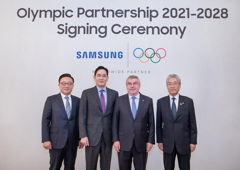 Διεθνής Ολυμπιακή Επιτροπή και Samsung μαζί έως το 2028