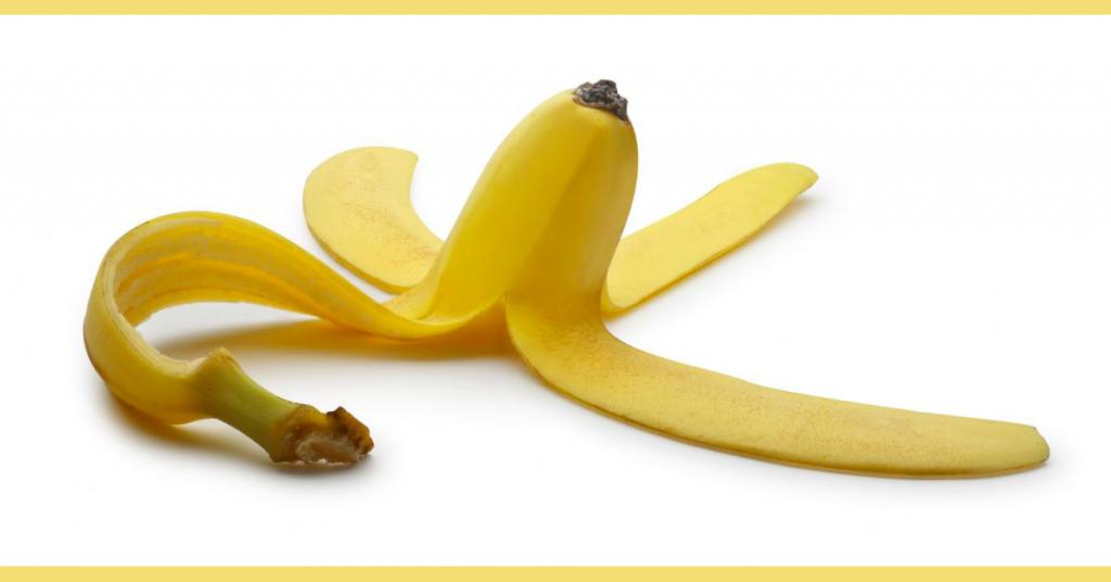 Πέντε λόγοι που δεν πρέπει να πετάς τη φλούδα της μπανάνας