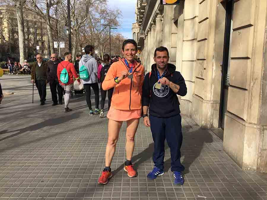 Παναγιώτου (1:38:44) και Δέρβας (1:31:24) στον ημιμαραθώνιο Βαρκελώνης!